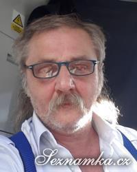 muž, 63 let, Brno
