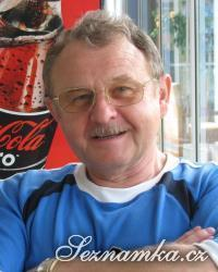 muž, 70 let, Praha