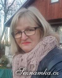žena, 55 let, Příbram