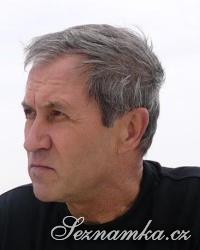 muž, 73 let, Louny